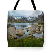 Rolling Mountain Clouds Tote Bag