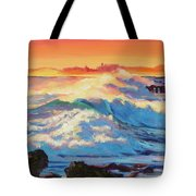 Rolling Ocean Surf - Plein Air Tote Bag