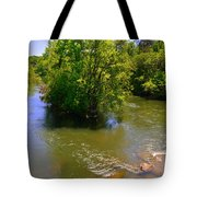 Rolling On The River Tote Bag