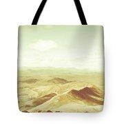 Rolling Rural Hills Of Zeehan Tote Bag