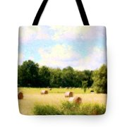 Rolling The Hay Tote Bag