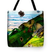 Linebacker II - The Thud - Water Color Tote Bag