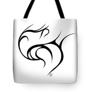 Rolling Tied  Tote Bag