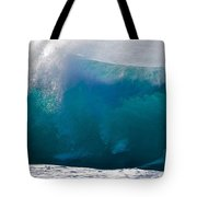 Rolling  Wave At Haleiwa Tote Bag