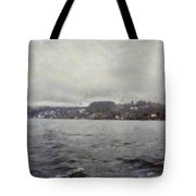 Rolling Waves In A Swiss Lake Tote Bag