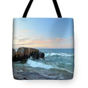 Rolling Waves On Superior Tote Bag