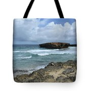 Rolling Waves On The Beach Known As Boca Keto Tote Bag