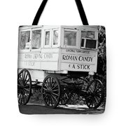 Roman Candy - Bw Tote Bag