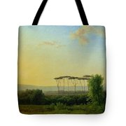 Roman Countryside Tote Bag by Pierre Henri de Valenciennes
