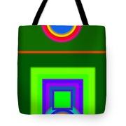 Roman Green Tote Bag