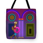 Roman Lavender Tote Bag
