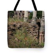 Roman Poppy Tote Bag