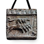 Roman Relief: Chariot Race Tote Bag