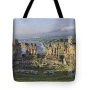 Roman Theatre Tote Bag
