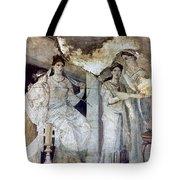 Roman Toilette Scene Tote Bag