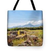 Roman Villa Ruins On Crete Tote Bag