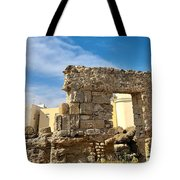 Roman Wall In Cadiz Spain Tote Bag