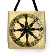 Roman Wheel Tote Bag