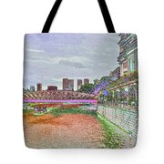 Romance At The Cavenagh Tote Bag