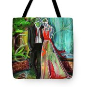 Romance Each Other Tote Bag by TM Gand