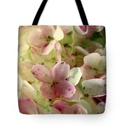 Romance In Pink And Green Tote Bag
