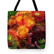 Romance Of Autumn Tote Bag