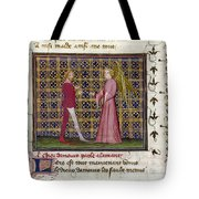 Romance Of The Rose Tote Bag