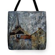 Romanesque Church  Tote Bag