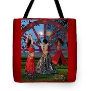 Romani Dance Tote Bag