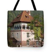 Romanian Villa Tote Bag