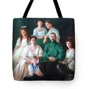 Romanov Family Portrait Tote Bag