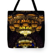 Romanov's Chandelier Tote Bag