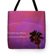 Romans 4 Tote Bag