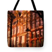 Romantic Amsterdam Tote Bag