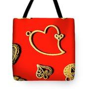 Romantic Heart Decorations Tote Bag