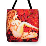 Romantic Moment Tote Bag