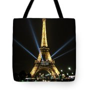 Romantic Night In Paris Tote Bag