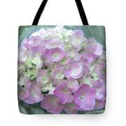 Romantic Pink Hydrangea Tote Bag