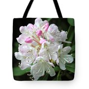 Romantic Rhododendron Tote Bag