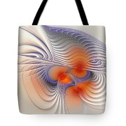Romantic Sensual Lines Tote Bag