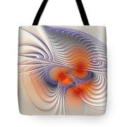 Romantic Sensual Lines Tote Bag