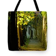 Romantic Sidewalk Tote Bag