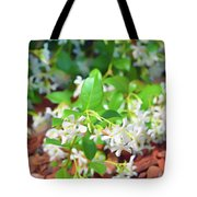Romantic Skies Jasmine In Bloom Tote Bag