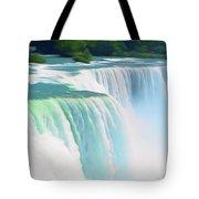 Romantic Skies Niagara Falls 2  Tote Bag
