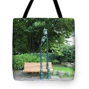 Romantic Street Lamp Tote Bag
