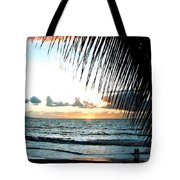 Romantic Sunset Tote Bag