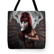 Romantic Vampire's Moon Tote Bag