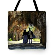 Romantic Walk 1870 Tote Bag