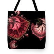 Romantically Jewelled Abstract Tote Bag