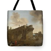 Rome. A View Of The Ponte Rotto Tote Bag
